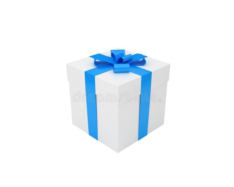 μπλε λευκό κορδελλών δώ&r ελεύθερη απεικόνιση δικαιώματος