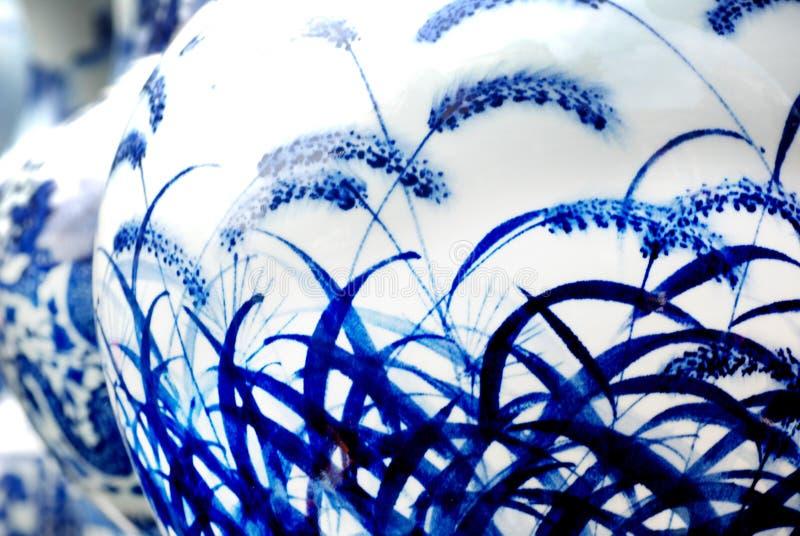 μπλε λευκό πορσελάνης στοκ φωτογραφία με δικαίωμα ελεύθερης χρήσης