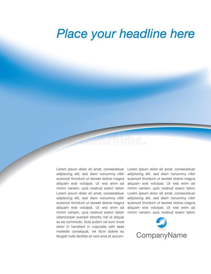 μπλε λευκό σχεδιαγράμμα απεικόνιση αποθεμάτων