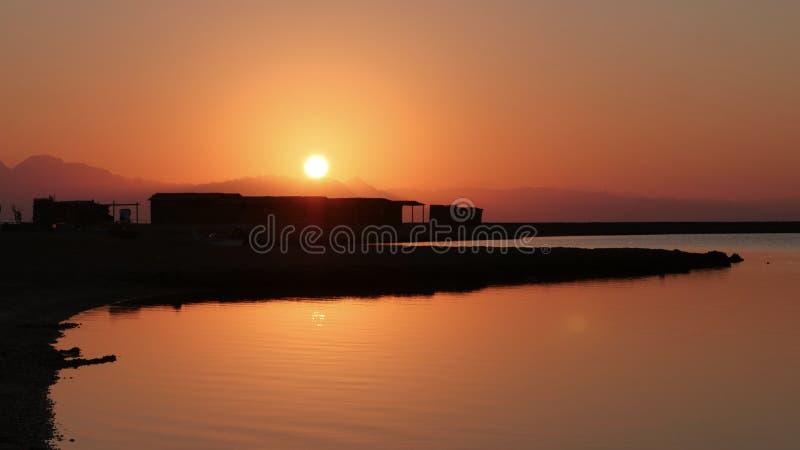 Μπλε λιμνοθάλασσα Sinai Αίγυπτος στοκ εικόνες