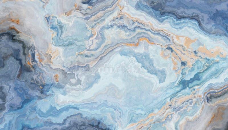 μπλε μάρμαρο ανασκόπησης ελεύθερη απεικόνιση δικαιώματος