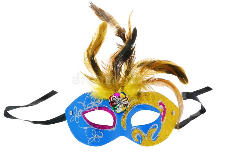 μπλε μάσκα στοκ φωτογραφία