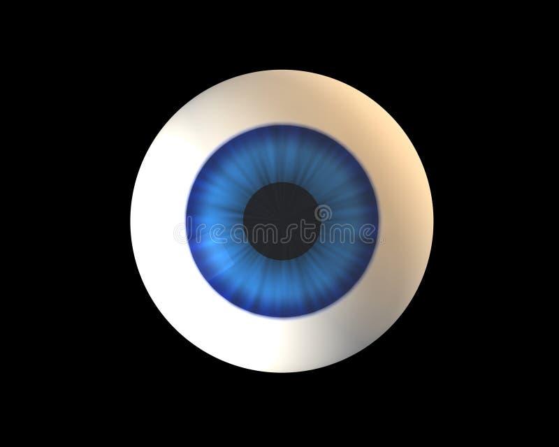 μπλε μάτι ελεύθερη απεικόνιση δικαιώματος