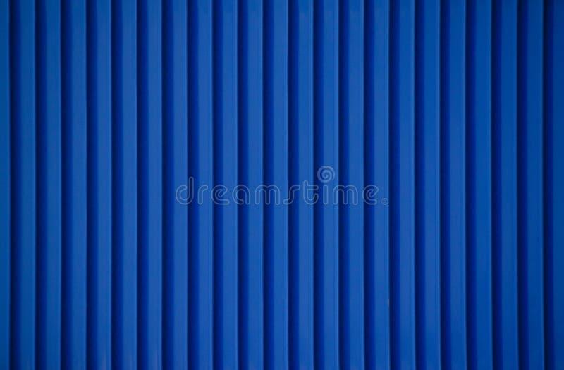 Μπλε μέταλλο λωρίδων στοκ φωτογραφίες