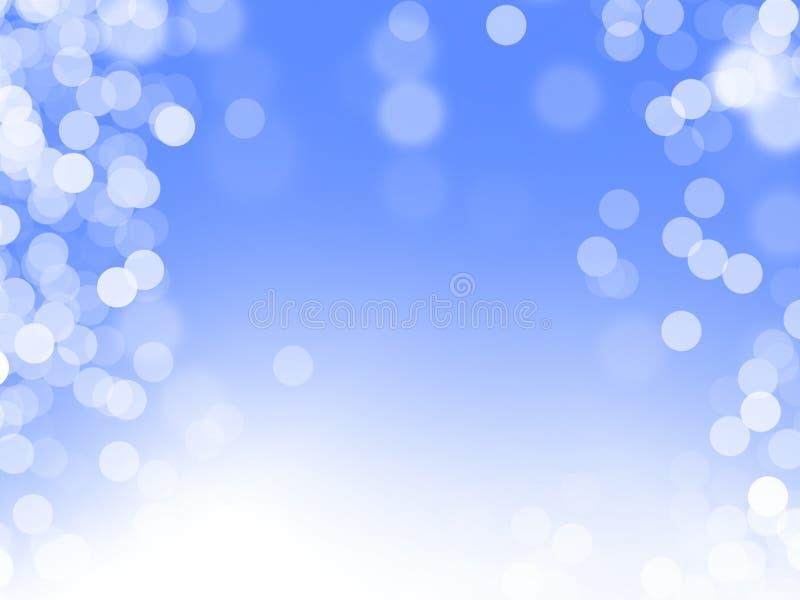 μπλε μαγικός ανασκόπησης στοκ εικόνες