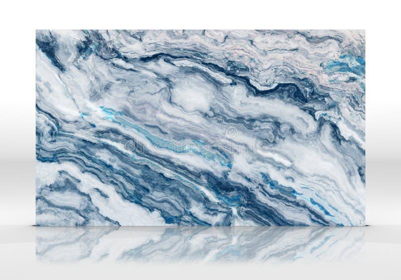 Μπλε μαρμάρινο κεραμίδι διανυσματική απεικόνιση
