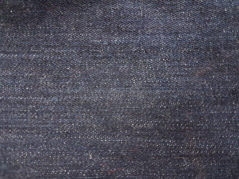 Μπλε μαύρη ραφή υποβάθρου του Jean στοκ φωτογραφίες με δικαίωμα ελεύθερης χρήσης
