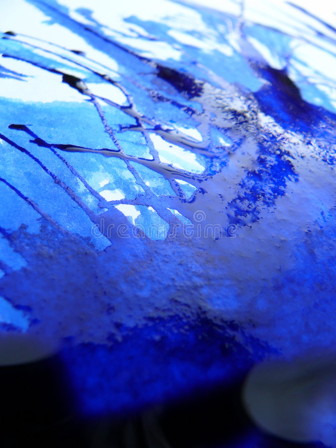 Download μπλε μελάνι στοκ εικόνες. εικόνα από επιφάνεια, άφρισμα - 113348