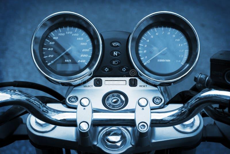μπλε μοτοσικλέτα μοτοσ& στοκ εικόνες με δικαίωμα ελεύθερης χρήσης