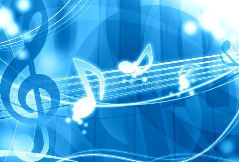 Download μπλε μουσική ανασκόπησης απεικόνιση αποθεμάτων. εικονογραφία από πυράκτωση - 22797837