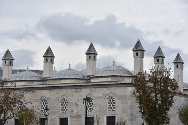 Μπλε μουσουλμανικό τέμενος, Sultanahmet, Ιστανμπούλ, Τουρκία στοκ εικόνα με δικαίωμα ελεύθερης χρήσης
