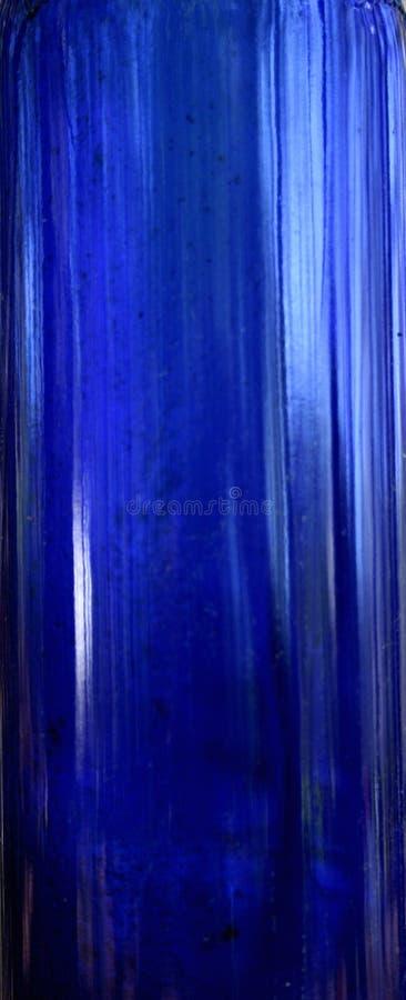 μπλε μπουκάλι στοκ εικόνα