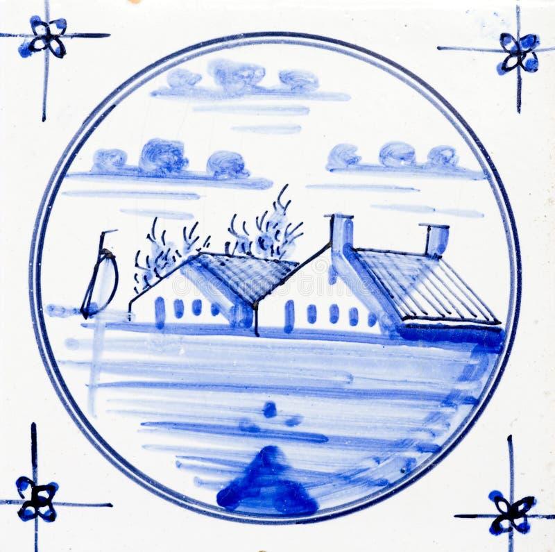 μπλε Ντελφτ στοκ εικόνες