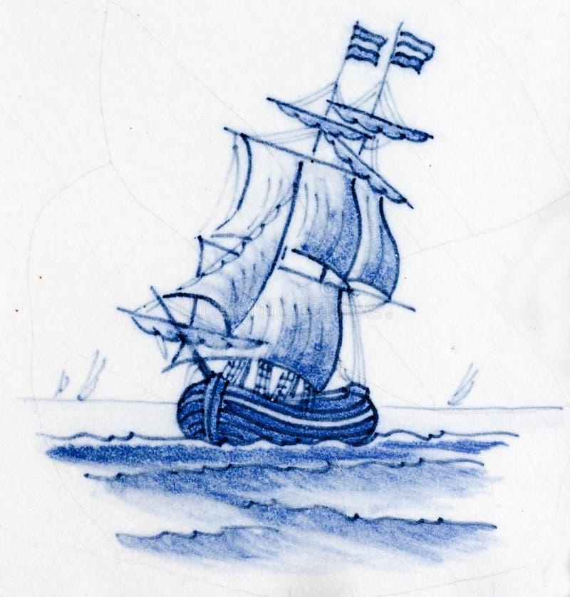 μπλε Ντελφτ στοκ φωτογραφίες με δικαίωμα ελεύθερης χρήσης