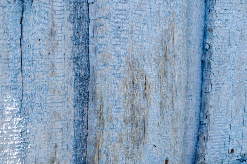 Μπλε ξύλινο υπόβαθρο σύστασης στοκ φωτογραφίες