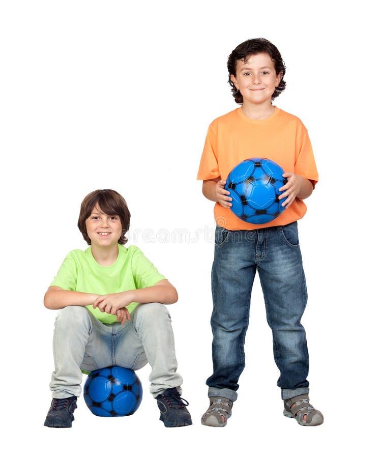 μπλε ομάδα ποδοσφαίρου &s στοκ εικόνες