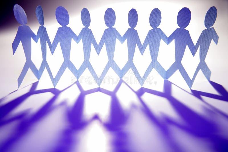 μπλε ομάδα στοκ εικόνα με δικαίωμα ελεύθερης χρήσης