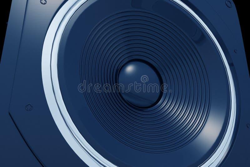 μπλε ομιλητής ελεύθερη απεικόνιση δικαιώματος