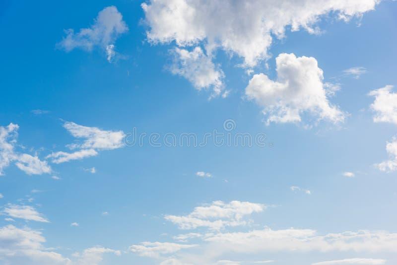 μπλε ουρανός σύννεφων μικρός στοκ εικόνες με δικαίωμα ελεύθερης χρήσης