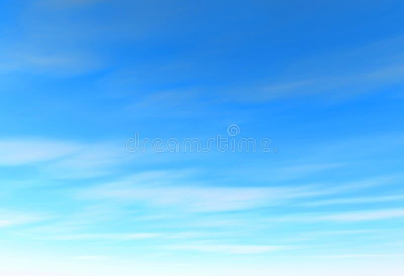 μπλε ουρανός διανυσματική απεικόνιση