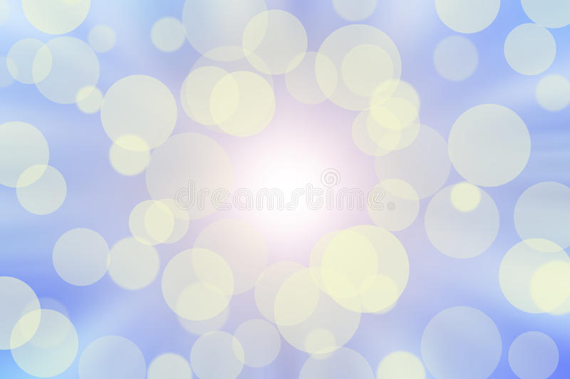 μπλε ουρανός bokeh ηλιόλουσ& στοκ φωτογραφία με δικαίωμα ελεύθερης χρήσης