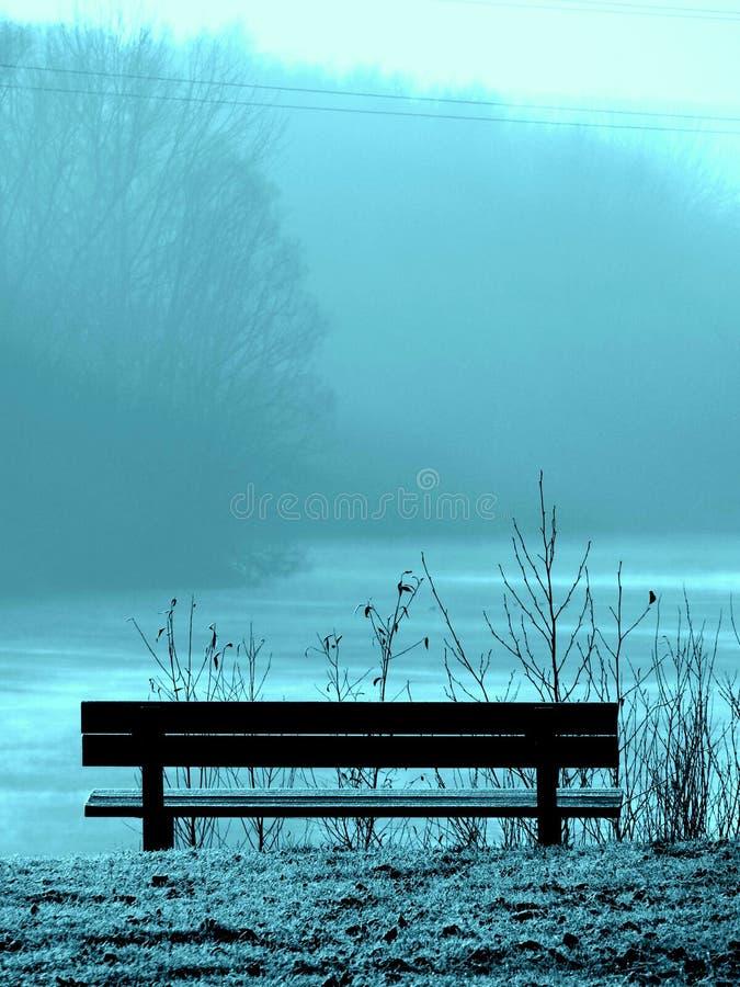 μπλε πάγκων στοκ φωτογραφία