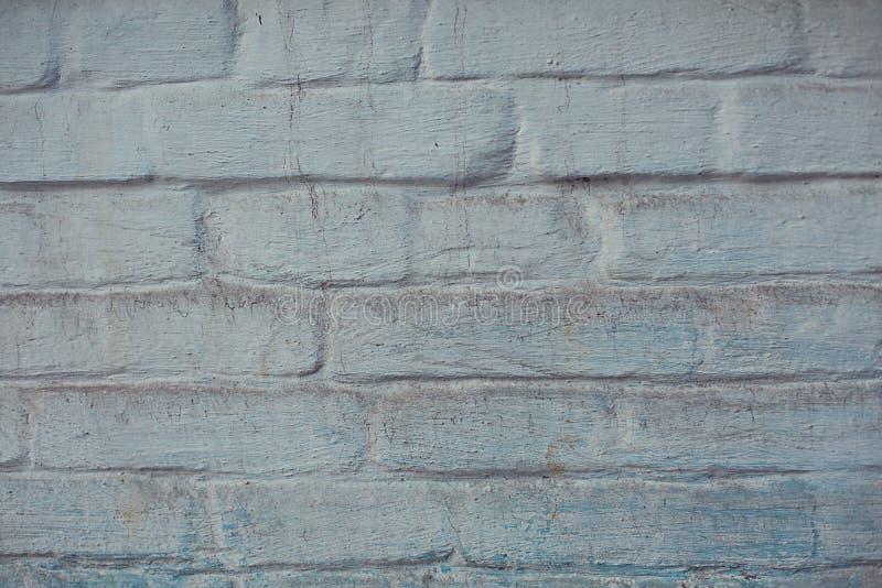 Μπλε παλαιός βρώμικος γρατζουνισμένος τοίχος σύστασης υποβάθρου των φραγμών στοκ εικόνες