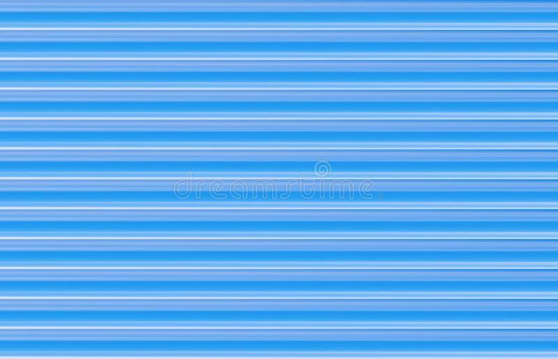 Μπλε παράλληλες γραμμές υποβάθρου Οριζόντια κλίση ακτίνων υποστρωμάτων βάσεων νέου σύστασης απεικόνιση αποθεμάτων