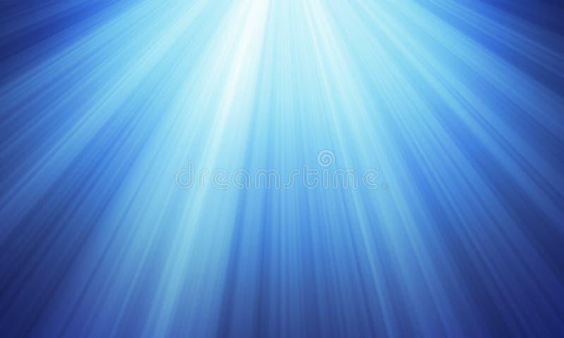 Μπλε περίληψη φω'των στοκ φωτογραφία