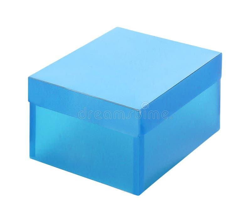 μπλε πλαστικό κιβωτίων στοκ εικόνα