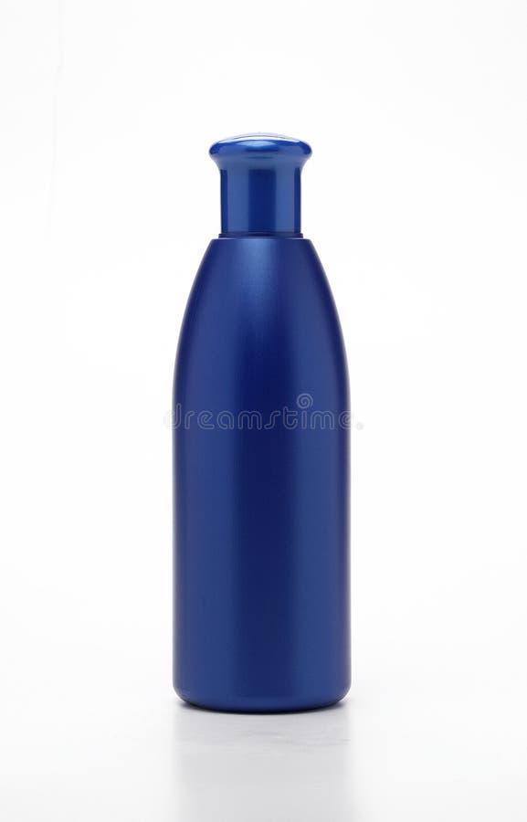 μπλε πλαστικό μπουκαλιώ&nu στοκ εικόνες με δικαίωμα ελεύθερης χρήσης