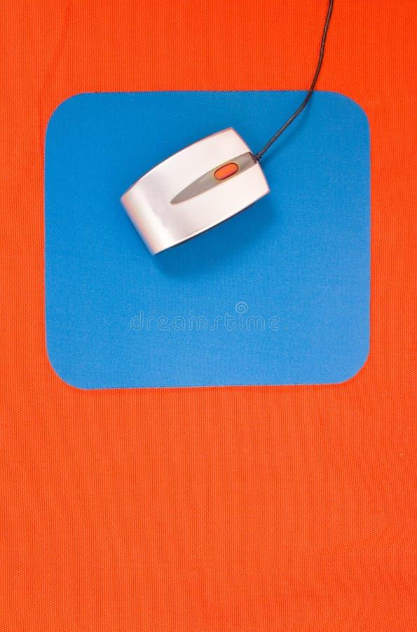 μπλε ποντίκι Στοκ φωτογραφία με δικαίωμα ελεύθερης χρήσης