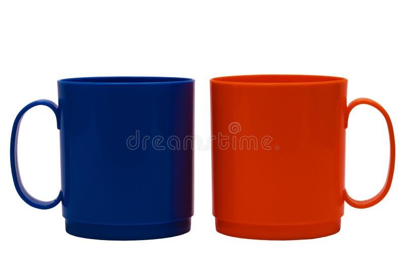 μπλε πορτοκάλι κουπών στοκ εικόνες με δικαίωμα ελεύθερης χρήσης