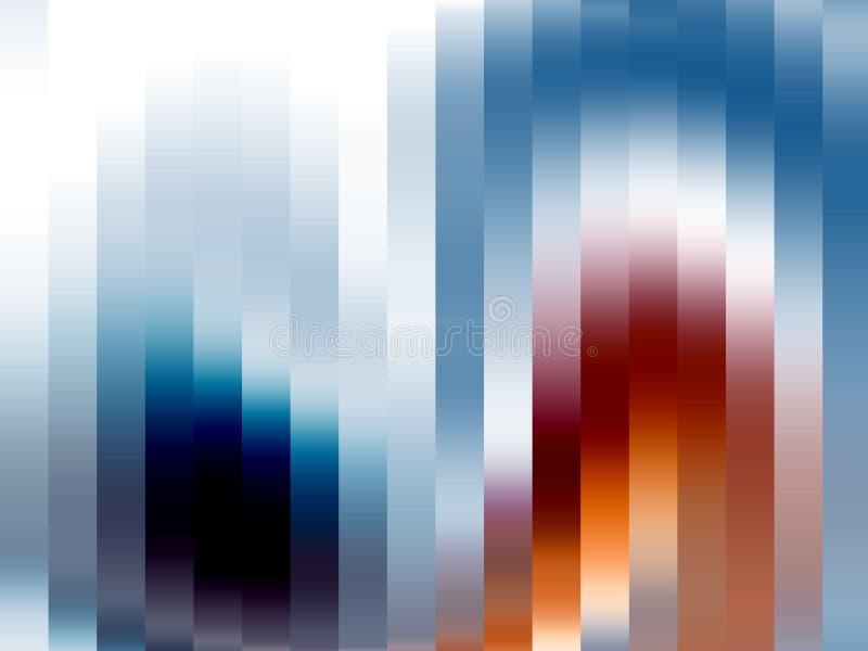 Μπλε πορτοκαλιές λαμπιρίζοντας γραμμές αντίθεσης, γεωμετρία, μορφές, αφηρημένο υπόβαθρο, ζωηρόχρωμη γεωμετρία απεικόνιση αποθεμάτων