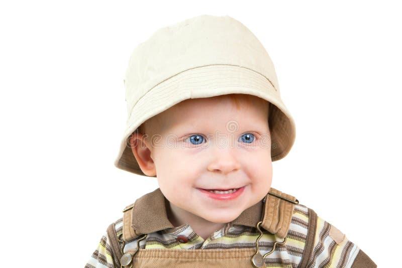 μπλε πορτρέτο ματιών αγοριών στοκ φωτογραφία με δικαίωμα ελεύθερης χρήσης