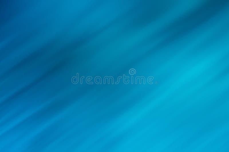 Μπλε που θολώνεται με το συγκεχυμένες υπόβαθρο και τη σύσταση λωρίδων απεικόνιση αποθεμάτων