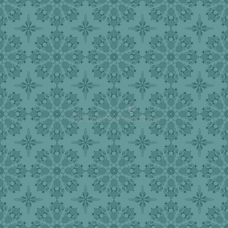 μπλε πρότυπο κύκλων άνευ ρ&a διανυσματική απεικόνιση