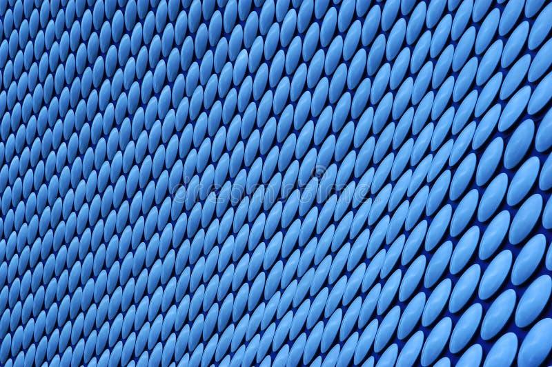 μπλε πρότυπο κύκλων Στοκ φωτογραφίες με δικαίωμα ελεύθερης χρήσης
