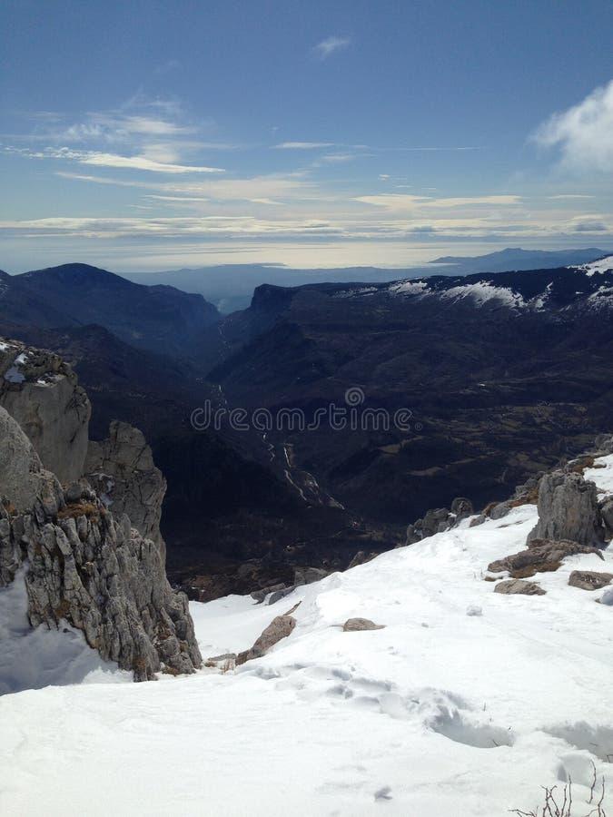 μπλε ραβδί χιονιού ουραν&o στοκ εικόνα