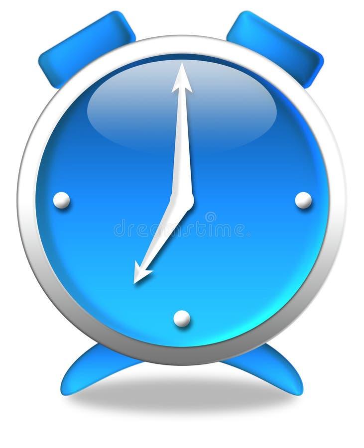μπλε ρολόι απεικόνιση αποθεμάτων