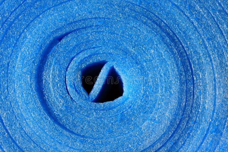 μπλε ρόλος στοκ φωτογραφία