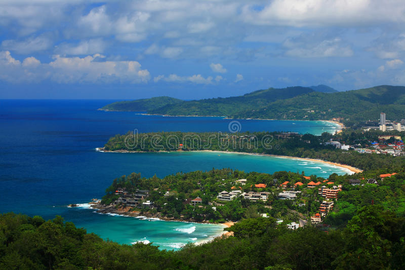 μπλε σαφής ουρανός νησιών phu στοκ φωτογραφία με δικαίωμα ελεύθερης χρήσης