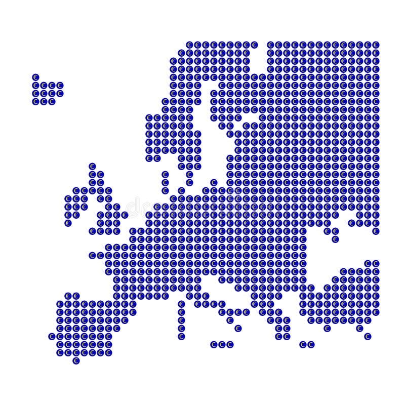 μπλε σημάδι της Ευρώπης ση ελεύθερη απεικόνιση δικαιώματος