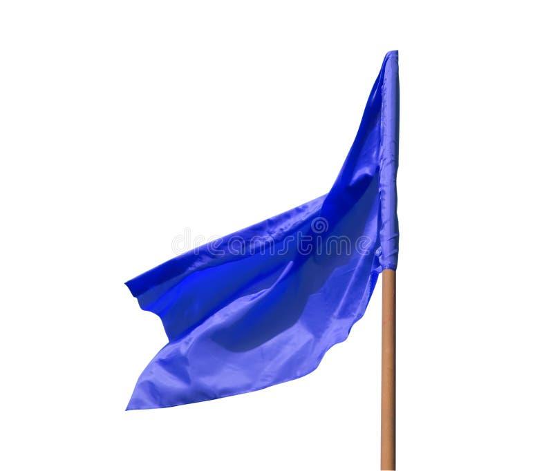 μπλε σημαία στοκ φωτογραφία