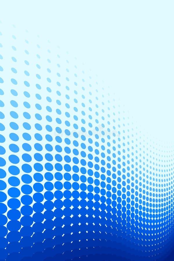 μπλε σημείο προτύπων διανυσματική απεικόνιση