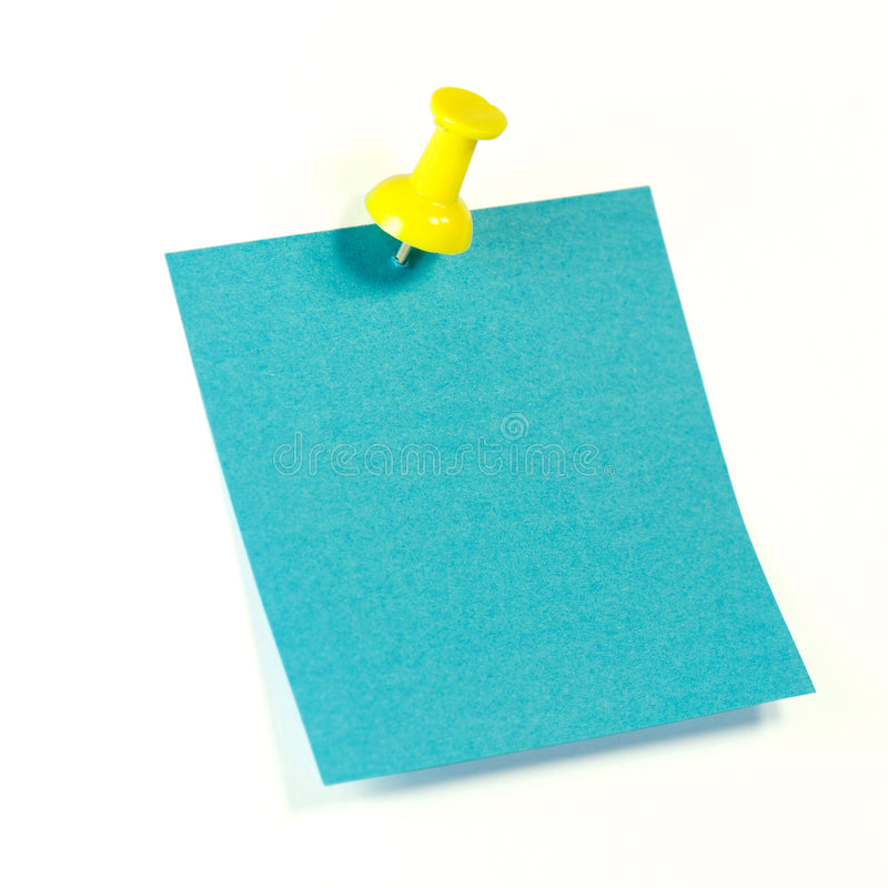 μπλε σημείωση στοκ εικόνα