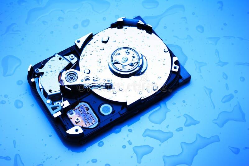 μπλε σκληρός υγρός δίσκω&n στοκ φωτογραφίες με δικαίωμα ελεύθερης χρήσης