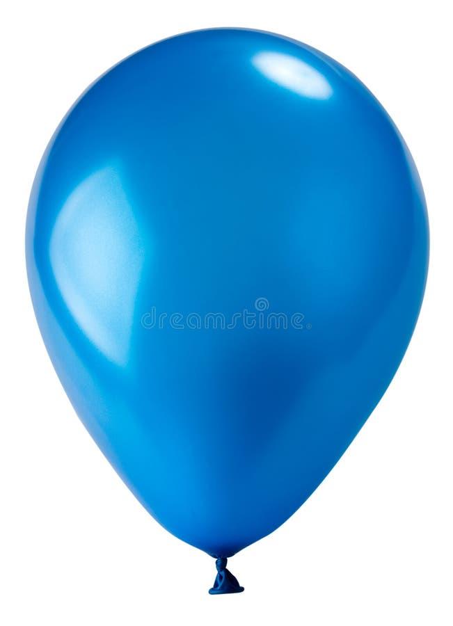 μπλε σκοτάδι μπαλονιών στοκ φωτογραφία με δικαίωμα ελεύθερης χρήσης