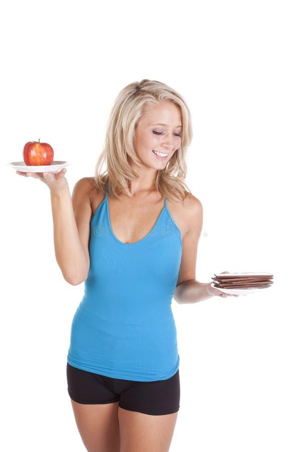 μπλε σοκολάτα που φαίνε& στοκ εικόνες με δικαίωμα ελεύθερης χρήσης