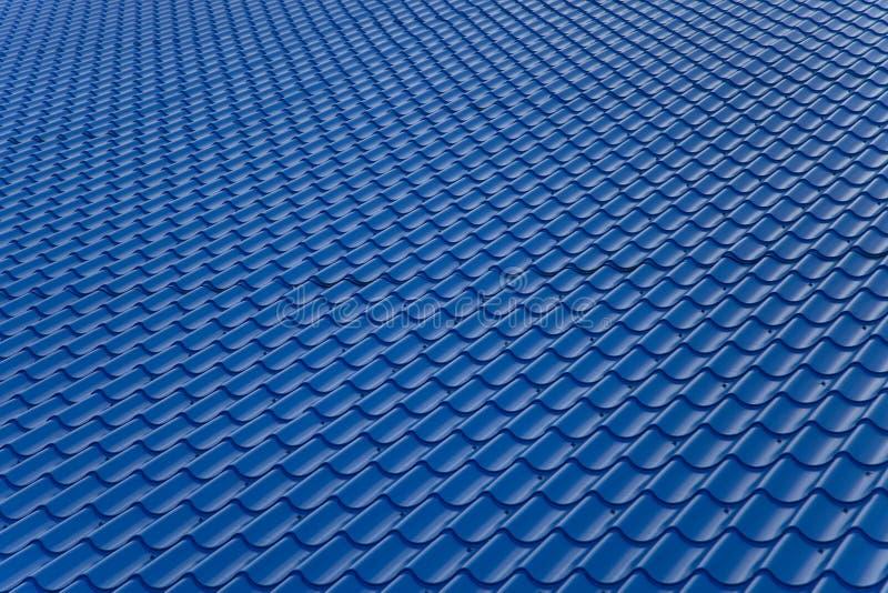 Μπλε στέγη στοκ φωτογραφίες